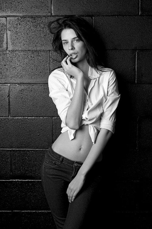 Work  by Sandro Cecchini, Model  Lucrezia F., Make Up : Mara Amore Bonapasta