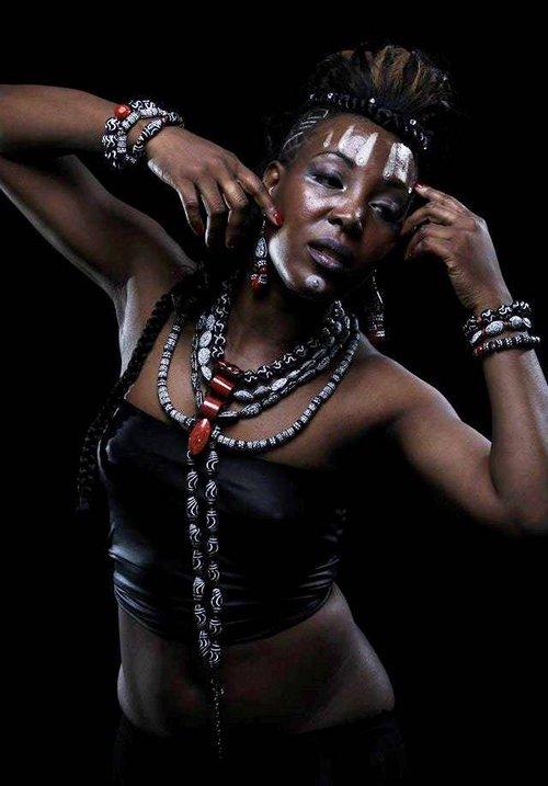 Work  by Lana May, Model: Toni Barker, Photographer: Martin Lowenthal, Unique Jackson, Maria Erofeeva