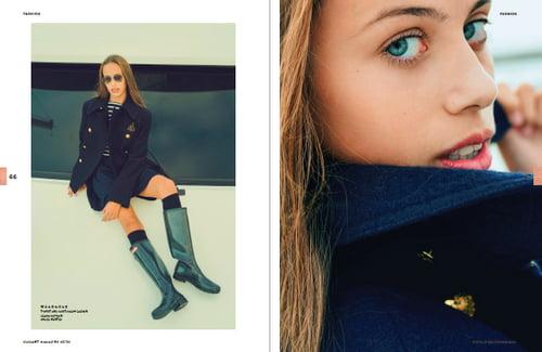 Work  by Veronica Laviana, ELEGANT Magazine